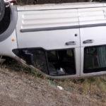 Virajı Alamayan Araç Takla Attı: 1 Yaralı