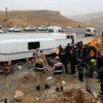Yolcu midibüsü devrildi: 6 ölü, 15 yaralı