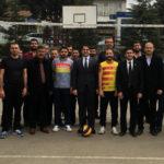 Hekimhan'da Kurumlar Arası Voleybol Turnuvası Başladı