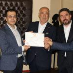 Hekimhan Belediye Başkanı Karadağ Mazbatasını Aldı