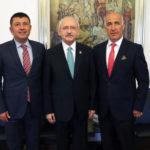 Başkan Karadağ, Kılıçdaroğlu'nu ziyaret etti