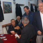 Başkan Karadağ'dan Kahvehane Ziyareti