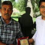 Gençlik ve Spor İlçe Müdürü Karaca'ya Veda Yemeği