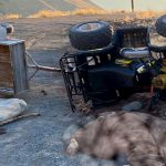 ATV devrildi: 1 ölü